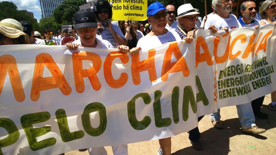 Marcha Gaucha Pelo Clima - 29/11/2015